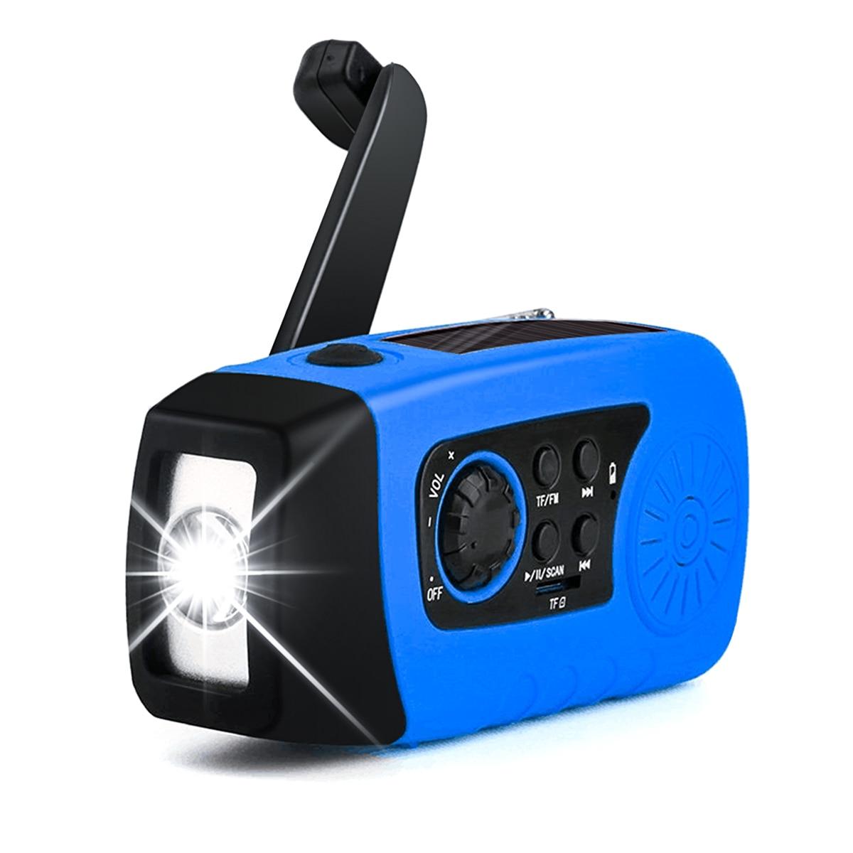 Radio Freundschaftlich Marke Neue Soonhua Tragbare Mw Radio Hand Kurbel Wb Radio Self Powered Solar Power Fm Radios Mit Taschenlampe Power Bank Für Telefon