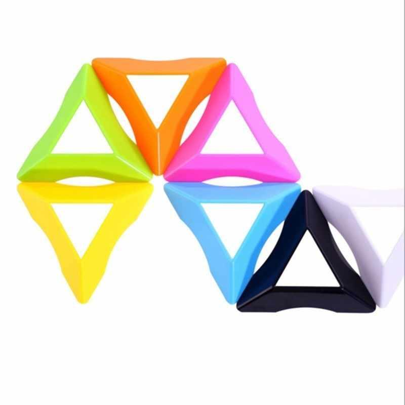 10 шт./лот цвет 2x2 3x3 4x4 кубическая подставка высокое качество скорость Магическая Скорость Куб пластиковый кубик База держатель обучающая игрушка
