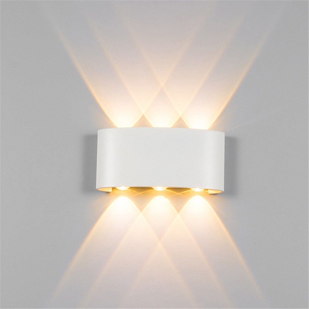 Lights & Lighting Waterproof Led Wall Light Ip65 6w Die-cast Aluminum Wall Sconce Lamps Ac85-265v Indoor Outdoor Lighting Modern Decor Wall Lamp Led Lamps