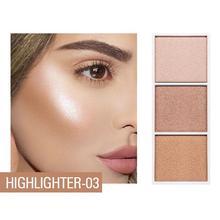 3 цвета высокого качества свет для ремонта диск высокой свет тень диск естественный макияж лоток ярче косметический Красота продукты