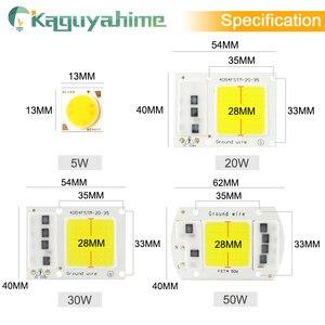 Image 3 - Kaguyahime AC 220V משולב COB LED מנורת שבב 50W 30W 20W 10W 5W חכם IC נהג עבור DIY הארה זרקור מקרן לגדול