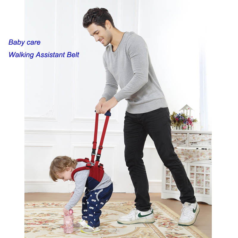 Baby Safe Infant Walking Belt Kid Keeper Walking Walker Assistent Kleinkind Verstellbarer Riemengeschirr Für 6-24 Monate