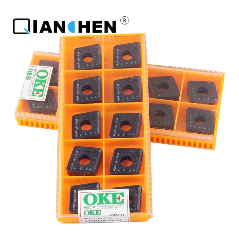 Original quality OKE 10pcs/lot high precision high performance high strength CNC CNMM190624-OPH OC3115  industry carbide insertsOriginal quality OKE 10pcs/lot high precision high performance high strength CNC CNMM190624-OPH OC3115  industry carbide inserts