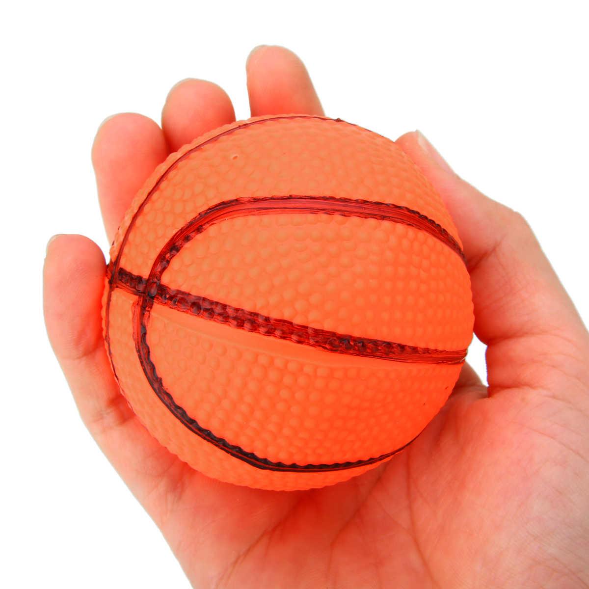Chegada nova Mini Tabela de Basquete Hoop Net Set Com Bola De Basquete Para Crianças Presente da Criança Jogo de Esportes Coberta Padrão Aleatório