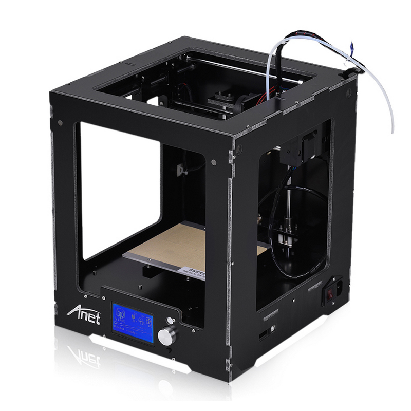 2019 Anet A3S High resolution 3d printer for sale fully assembled metal 3d printer machine large