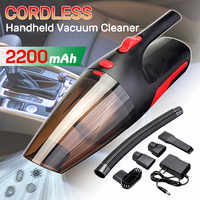 Newest 120W 12V Vaccum Cleaner 5000PA Super Suction Portable Cordless Handheld Rechargeable Car Vacuum Cleaner Wet/Dry Dual Use