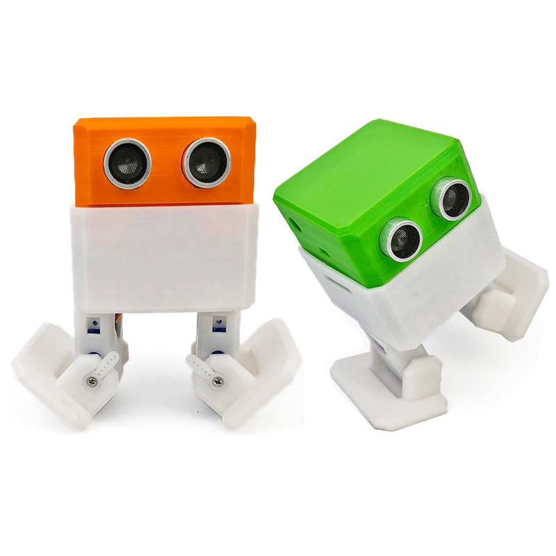 OTTO pour Arduino pour Nano RC Robot Open Source fabricant évitement d'obstacles marche danse bricolage humanité Playmate 3D jouets assembler des modèles