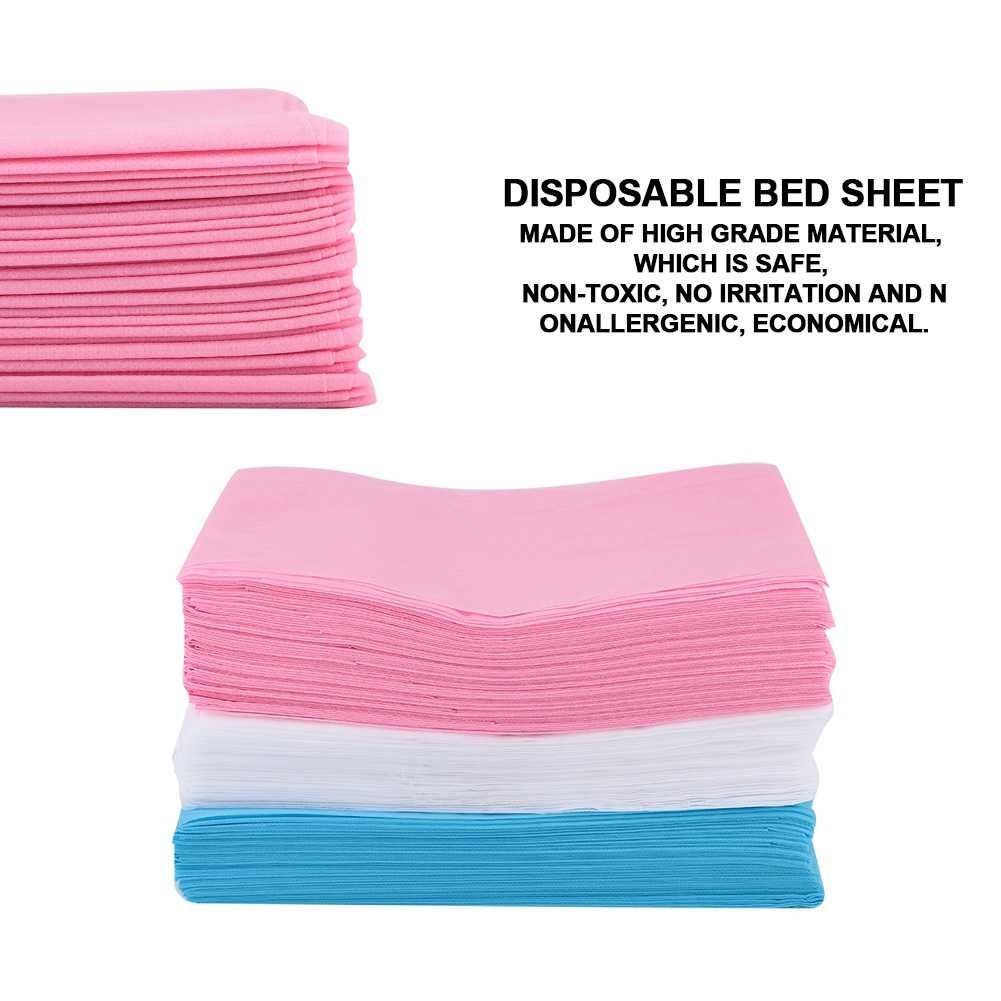 Folha de cama descartável à prova de óleo impermeável capa de cama salão de beleza spa tatuagem massagem tabela hotéis folhas de cama anti-peças sujas