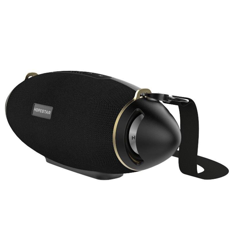 HOPESTAR H20 Rugby 30 W haut-parleur Bluetooth colonne Pc sans fil Portable Mini étanche méga basse stéréo extérieur caisson de basses Tf Usb