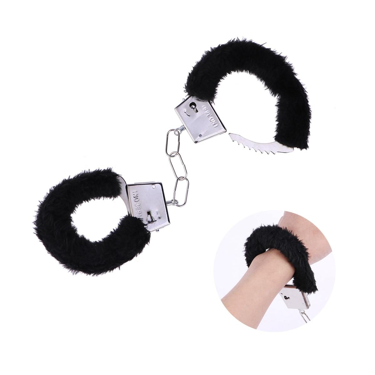 Adjustable Plush Handcuff For Sex Ankle Cuff Restraints BDSM Bondage Set Restraints Sex Adult Toys For Woman Exotic Accessories