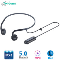 New Vidonn Q2 Bluetooth 5.0 Sport Earphone Wireless Bone Conductor Earphones IPX5 Waterproof CSR Support Voice Calls LightWeight