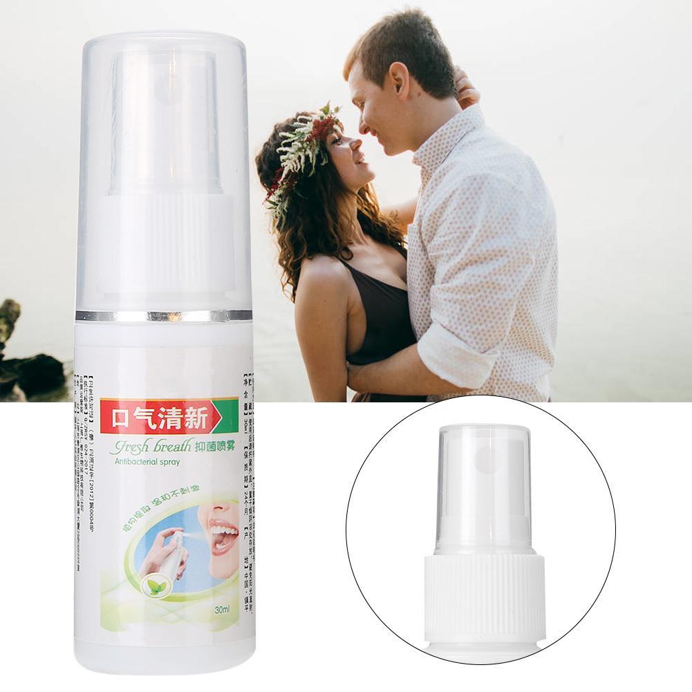 Oral Hygiene Care Bad Breath Odor Herbal Mouth Freshener Antibacterial Spray 30ml