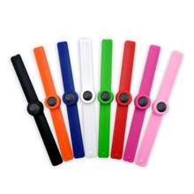 Essential Oil Slap Bracelet Silicone with Lava Stone Christmas Novelty Gifts for Kids Or Adults