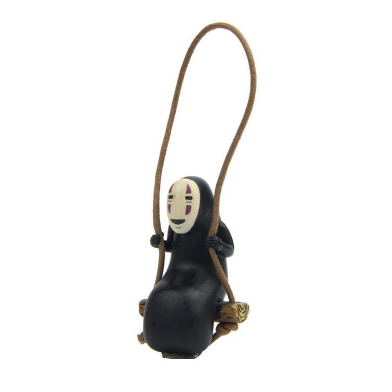 Figurine danime sans visage, 1 pièce, bricolage, décoration paysage, poupée, jouet décoratif fait à la main