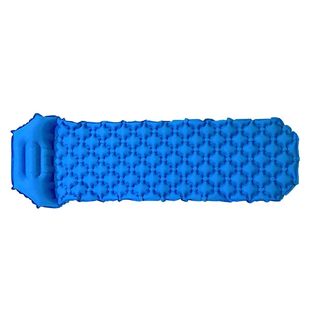 Напольный коврик для кемпинга Надувная Подушка спальный мешок коврик быстрое наполнение влагостойкий с подушкой коврик для сна