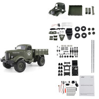 JJRC Q61 Kit 1/16 2.4G 4WD Off Road Military Truck Crawler RC Car DIY RC Car Kit 2019 New Arival Gift For Kids Toys