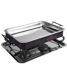 Asadores Portatiles Camping Asador A Carbon Churrasqueira Grill For Outdoor Churrasco barbacoa Seafood Fish Barbecue Plate