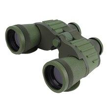 Зеленый световой телескоп HD уровень наружное уплотнение низкое ночное видение 10X50 армейский бинокль высокое