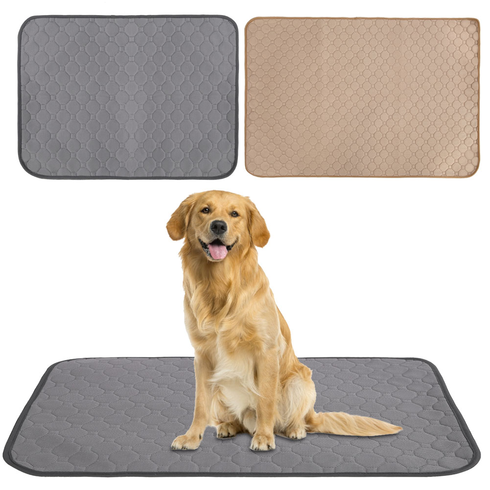 Waterproof Pet Puppy Training Mat Washable Reusable Pee Pads For Dog Cat Whelping Pads Bed Sofa Mattress Protector Cover