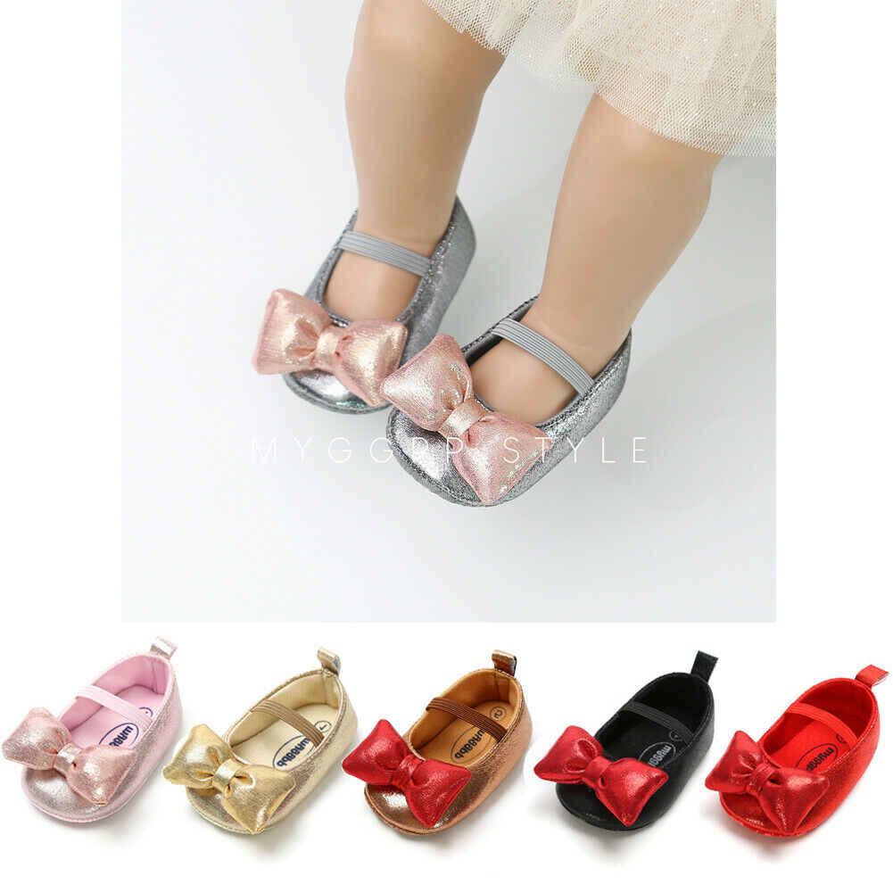 0-18 M ทารกแรกเกิดเด็กสาวรองเท้าเด็กสาวเจ้าหญิงรองเท้า