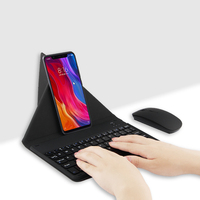 Bluetooth Keyboard For Nokia 2 5 6 2018 3 7 Plus 8 9 X6 X5 Lumia 640 520 540 Mobile phone Wireless Bluetooth keyboard mouse Case