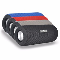Wholesale 100 pcs Waterproof Speakers 12W Fabric Bluetooth Speaker with Mic for Sports Outdoor Climbing Cycling Yoga Reading