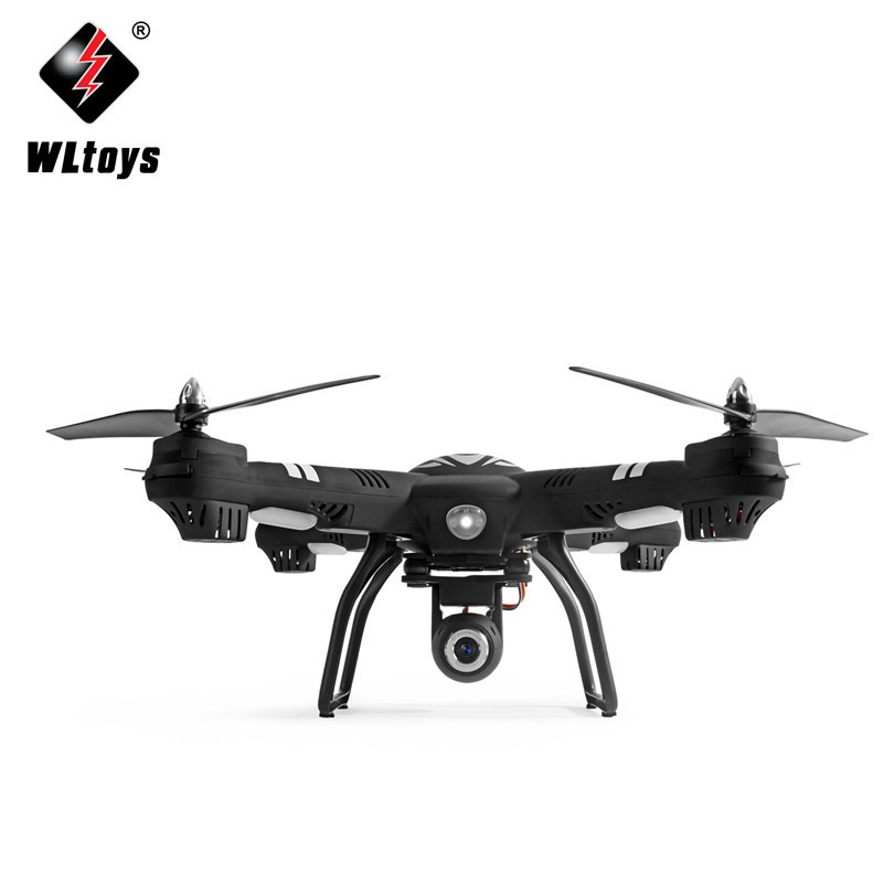Wltoys q303 novos drones rc 5.8g fpv 720 p câmera zangão 4ch 6 eixos giroscópio rtf rc quadcopter led luz modo headless helicóptero - 6