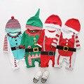 Baby Strampler 5 stücke 1st Weihnachten Baby Kleidung Overall Lustige Weihnachten Baby Onesies Neugeborenen Jungen Kleid Rot Baumwolle Kleidung
