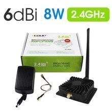 EDUP EP-AB003 8 Вт 2,4 ГГц 802.11n Wifi усилитель сигнала ретранслятор широкополосные усилители для беспроводной адаптер маршрутизатора расширитель диапазона