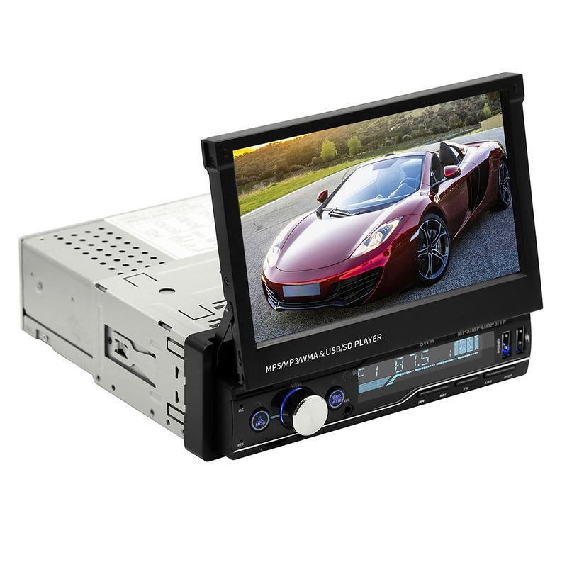 T100 T100G multimédia 7 pouces voiture FM Radio lecteur Audio MP5 prise en charge AUX Bluetooth RDS fonction HD écran capacitif