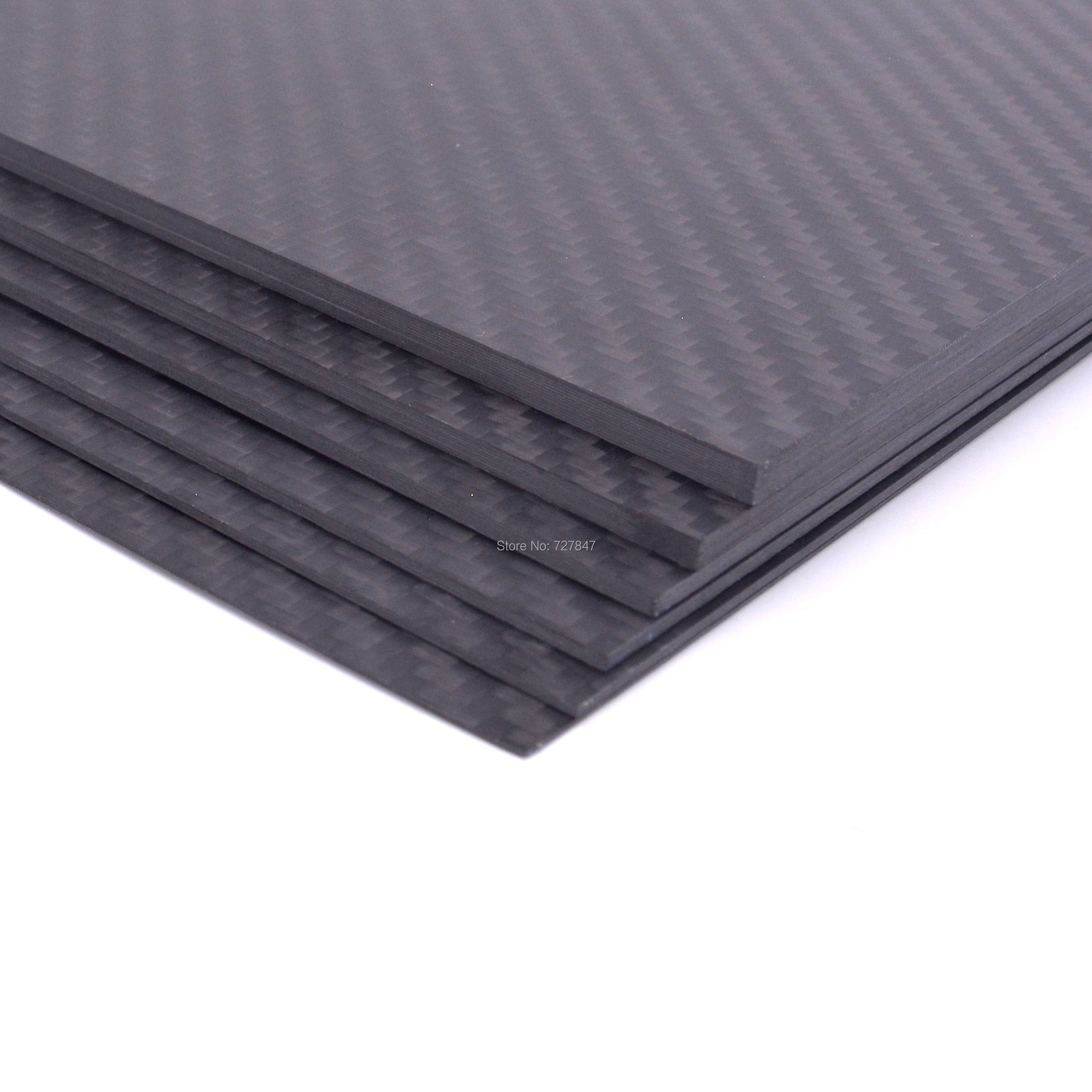 Image 2 - 400mm X 200mm Real Carbon Fiber Plate Panel Sheets 0.5mm 1mm 1.5mm 2mm 3mm 4mm 5mm thickness Composite Hardness Material-in Parts & Accessories from Toys & Hobbies