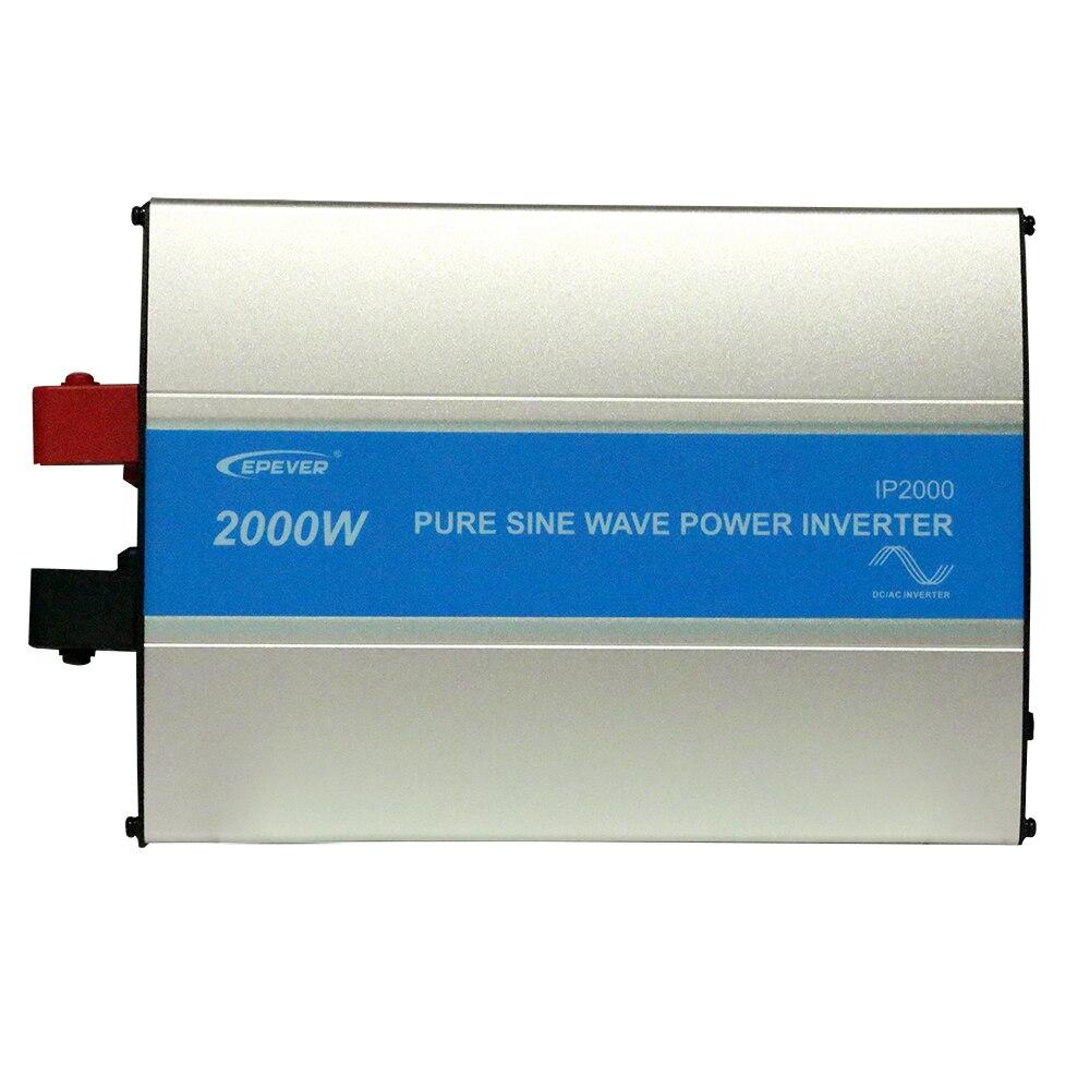 EPEVER IPower IP2000 2000w 2KW Reine Sinus welle off grid tie Solar inverter dc 24v 48v zu ac 110v 120v 220v 230v 240v