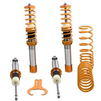 מתכוונן Coilover ערכת עבור BMW E39 5-סדרת 97-03 סדאן בולמי זעזועים השעיה מנחת כוח עבור 520i 525i 530i 535 540i
