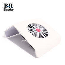 Bluerise שואב אבק עבור מניקור הוד חולץ ציפורניים חזקה אבק אספן 30W מניקור מכונת 2 שקיות אבק ואקום ציפורניים