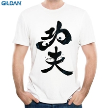 GILDAN men 3d t shirt summer Po the Kung Fu Panda man t-shirt tops