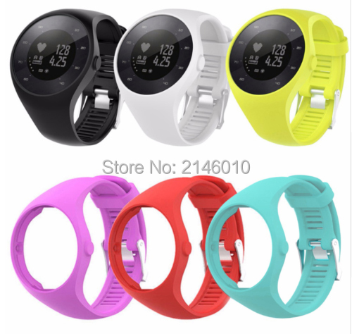 Replacement Soft Silicone WristBand Watch Band Strap For Polar M 200 M200 USB Charger