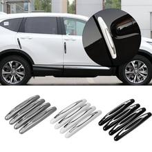 4 Pieces/pack Car Anti Collision Strip Car Door Guard Protector Door Edge Trim Guard Styling Moulding Anti Scratch Sticker
