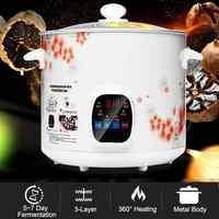 6L Durable Automatic Black Garlic Fermenter Household DIY zymolysis Pot Maker Black Garlic Fermenting Machine Yogurt Maker