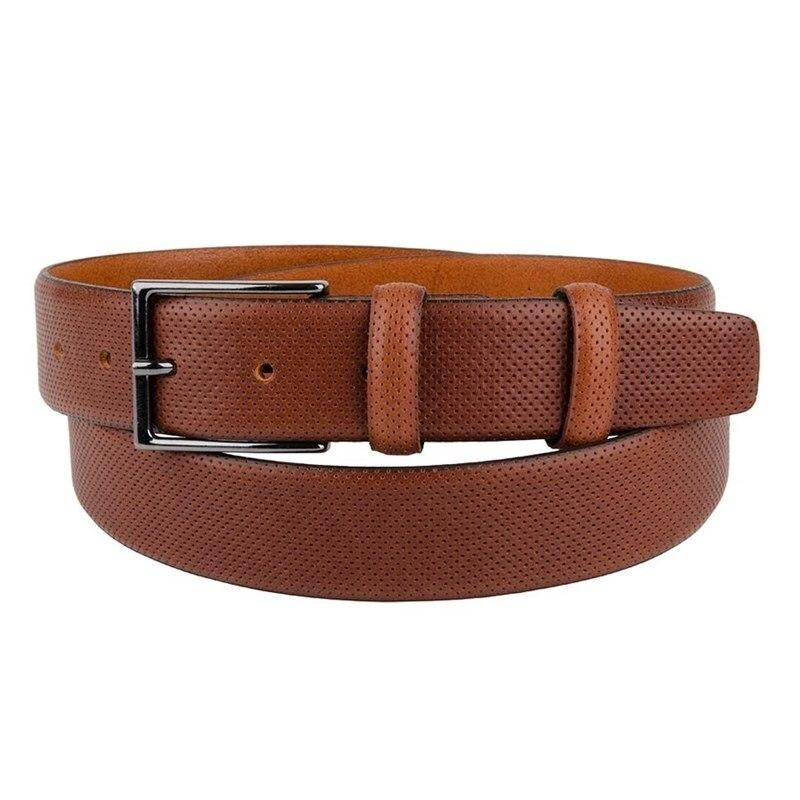 Belt Sergio Belotti unisex 211/35 Marrone unisex adjustable posture corrector back support belt for adults