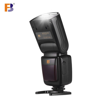 FB Camera Flash Speedlite Speedlight Wireless 2.4G w/ Hot Shoe Mount Diffuser for Canon Sony Nikon Pentax SLR Camera Photography