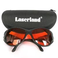 OD4+ UV OD5+ 190-540nm Green Blue Safety Laser Glasses Protective Goggles CE