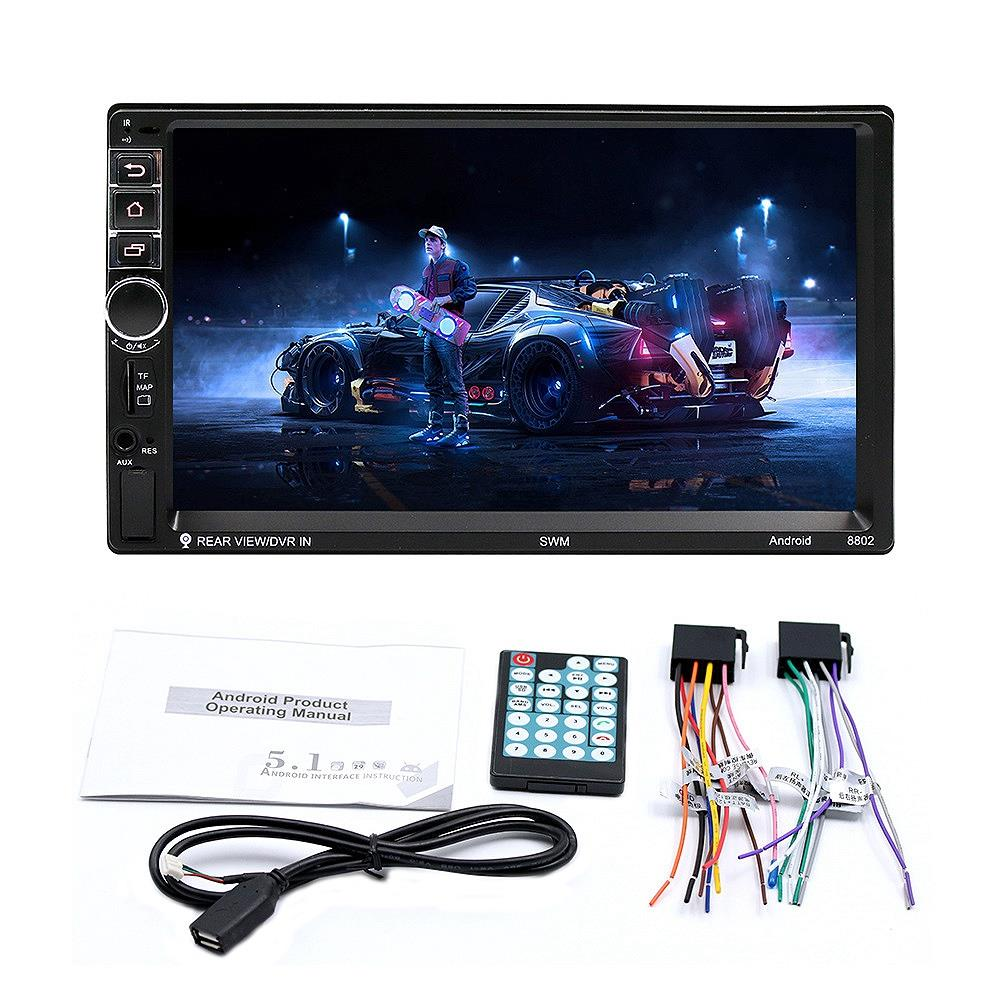 7-Inch Press Screen Car Bluetooth Mp5 Player Auto Double Ingot Mp4/Gps Navigation Integrated Machine 88027-Inch Press Screen Car Bluetooth Mp5 Player Auto Double Ingot Mp4/Gps Navigation Integrated Machine 8802
