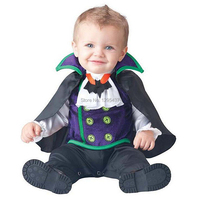 תינוק פעוט תינוק חדש בני ערפד תחפושת ליל כל הקדושים להתלבש קוספליי תלבושות פורים חג תלבושות