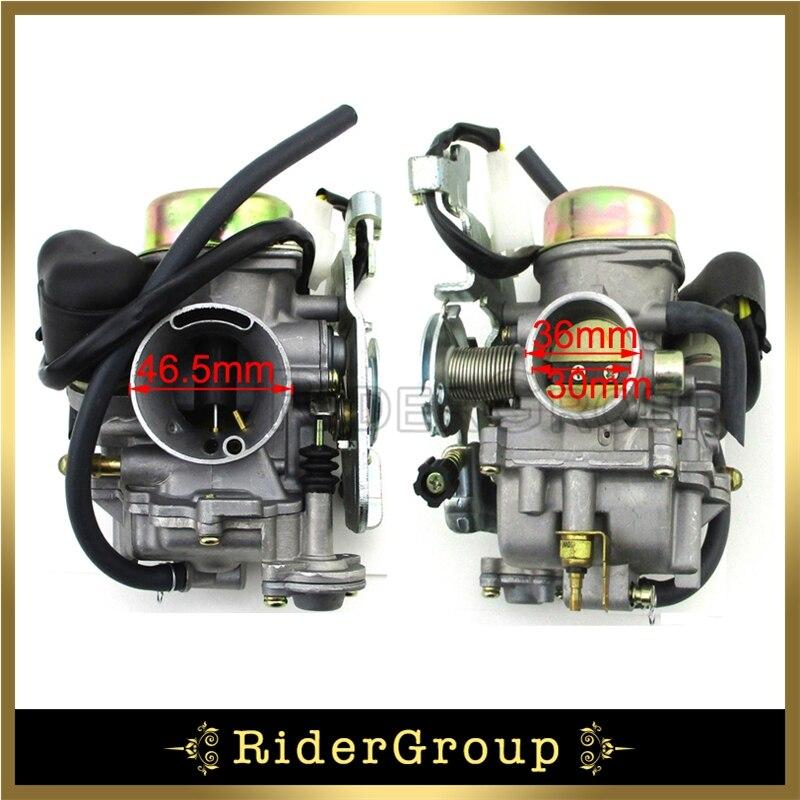 CVK Carburetor 300cc Fit Feishen ASW Manco Talon LinHai Bighorn FS300 UTV CVK ATV Quad Go Kart Buggy Free Shipping-in Carburetor from Automobiles & Motorcycles    1
