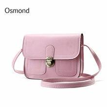 1db9f08ed0 Diseño Vintage bolsos de las mujeres Rosa coreano Mini bolsa de teléfono celular  Simple de bolsas Crossbody bolsas Casual señora.