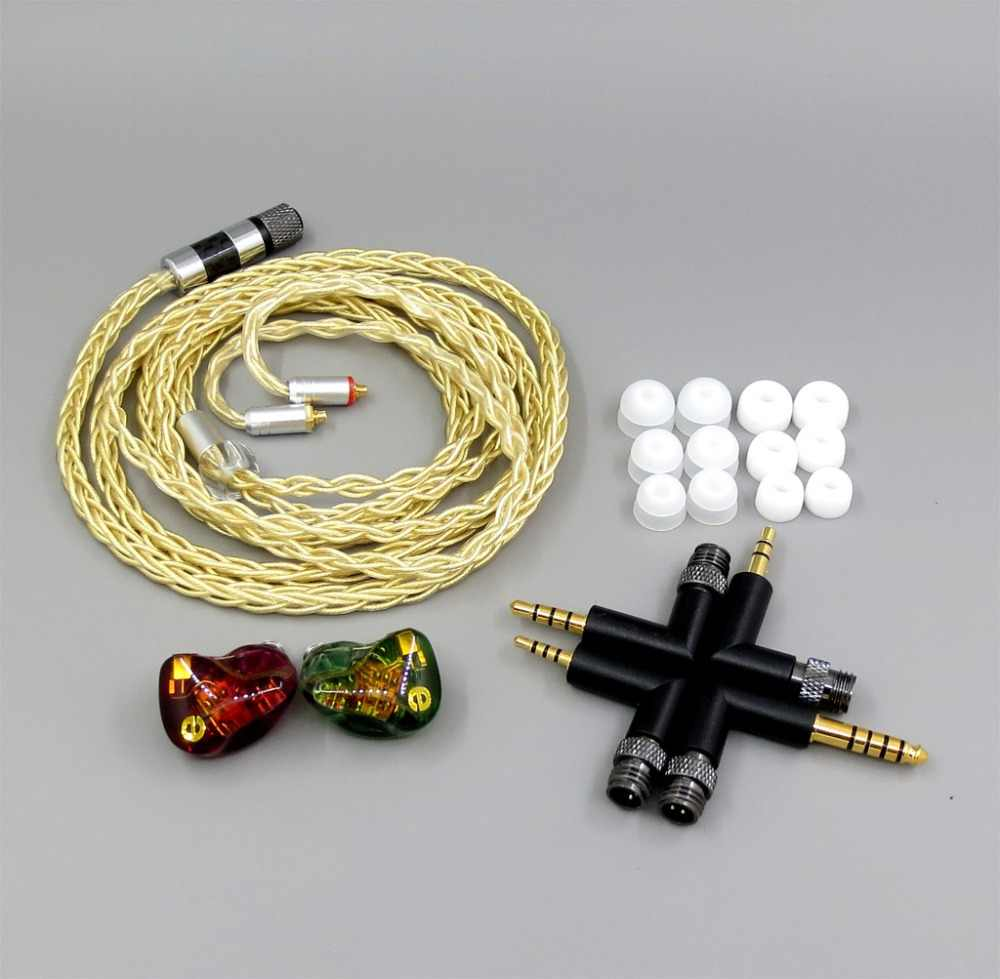 LN006261  6 Units Speaker BA Armature In Ear Earphone Fit for IBASSO DX80 DX150 AMP2 DX200 player