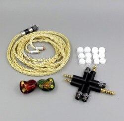 LN006261 6 jednostek głośnik BA armatura w ucho słuchawki nadające się do IBASSO DX80 DX150 AMP2 DX200 odtwarzacz