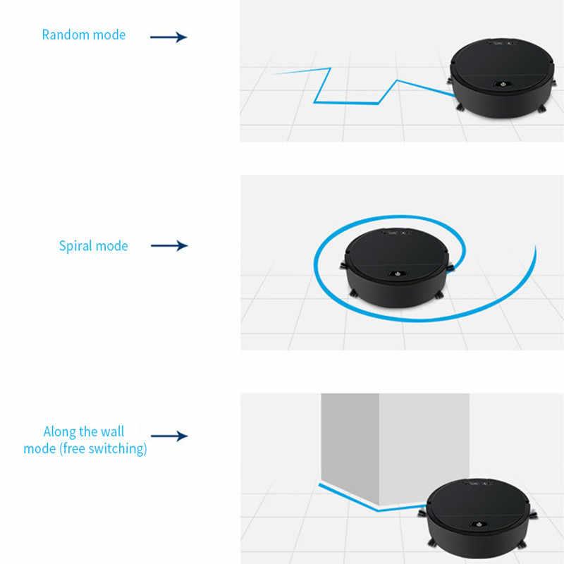 2019 Новый мини перезаряжаемые умный пылесос подметания робот одна кнопка автоматическая машина для уборки поддержка зарядка через usb