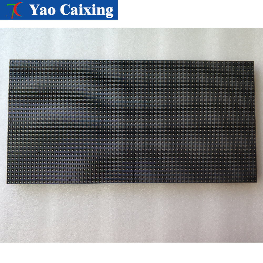 256*128mm free shipping dot matrix P4 RGB LED advertising led screen module board 64x32 pixels high resolution led display tv(China)