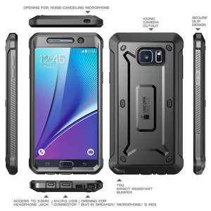 Image 3 - For Galaxy Note 5 Case 5.7 inch SUPCASE UB Pro Full Body Rugged Holster Cover with Built in Screen Protector For Samsung Note 5